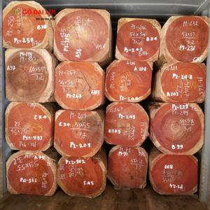 Hương đỏ Padouk phôi Lục Bình (1)